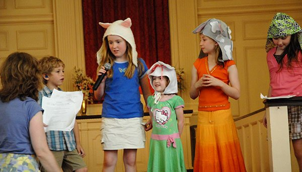 Third and Fourth Grade skit
