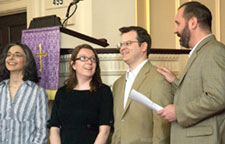 New members are introduced to East Church congregation