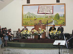 Pentecostal Church Of Chile interior