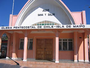 Pentecostal Church Of Chile exterior