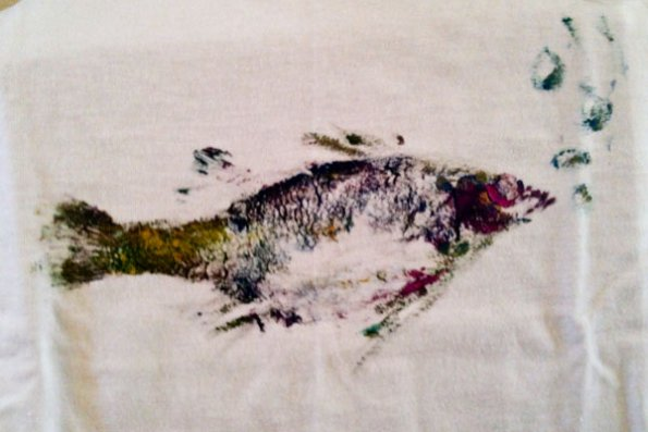 East Church CE fish print project